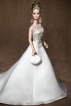 Badgley Mischka Bride Barbie® Doll | Barbie Collector  Gold Label®  Release Date: 5/1/2003  Product Code: B8946