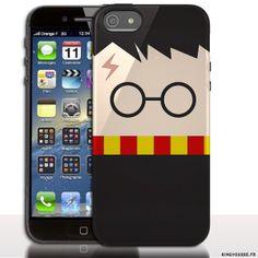 Étui iphone 5 en Silicone Harry Potter - Coque souple - Gel - Pour Apple iPhone 5s, iPhone 5. #Coque #Silicone #Cover #iPhone #5 #5s #Harry #Potter #Housse #Case