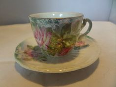 This item is unavailable Toast Rack, Breakfast Set, Flower Spray, Rose Design, Bone China, Cup And Saucer, Pink Roses, Tea Cups, Miniatures