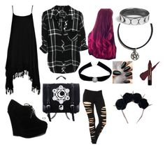 """""""Untitled #20"""" by theunikraken on Polyvore featuring Boohoo, Forever Link and Sirius"""