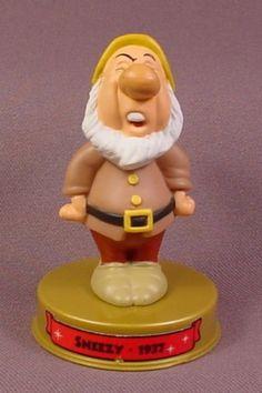 Mcdonalds Disney 100 Years Of Magic Sneezy Dwarf Figure On Base