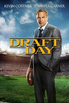 Draft Day Movie Poster - Ellen Burstyn, Denis Leary, Kevin Costner  #DraftDay, #MoviePoster, #Drama, #IvanReitman, #DenisLeary, #EllenBurstyn, #KevinCostner