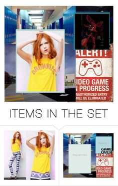 """""""Video Game High Audition"""" by the-ravenclaw-princes ❤ liked on Polyvore featuring art"""
