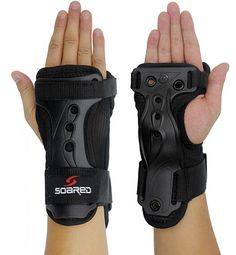 Ski classic special hand splint wristbands Snowboarding wristbands Double plate skiing armguard sport protector safety Skating