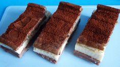 dietas-kinder-szelet Dessert Recipes, Desserts, Tiramisu, Protein, Ethnic Recipes, Food, Kids, Tailgate Desserts, Meal