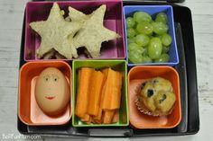 Lunch box idea - toasted sandwich bites