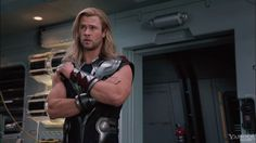 Chris Hemsworth as the Norse god Thor | Hubba. Hubba. ;)
