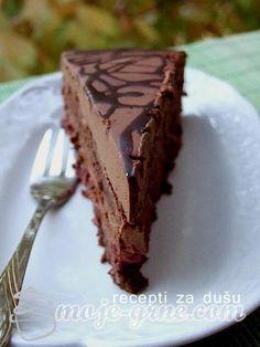 Torte Recepti, Kolaci I Torte, Baking Recipes, Cake Recipes, Dessert Recipes, Croatian Recipes, Bosnian Recipes, Adult Birthday Cakes, Torte Cake