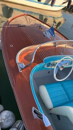 Cool Boats, Small Boats, Barca News, Riva Boat, Boat Shed, Runabout Boat, Classic Wooden Boats, Wooden Boat Building, Classic Motors