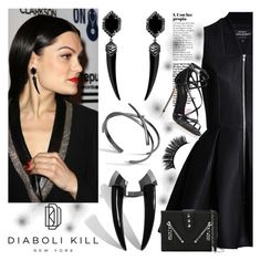 """""""DIABOLI KILL 1"""" by gaby-mil ❤ liked on Polyvore featuring Dolce&Gabbana, Kenzo, jewelry and diabolikill"""