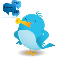 Cartoon Blue Bird Sing vector illustration by qiun - Stockfresh Twitter Help, Twitter Tips, Twitter For Business, Lottery Tips, Graphic Design Projects, Marketing Digital, Blue Bird, Pitch, Tweety