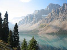 Tur til Canada - British Columbia: Jasper - Icefields Parkway i høj sol