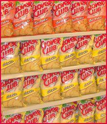 Clover Club barbecue potato chips