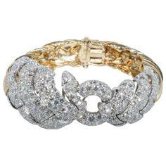 David Webb Amazing Diamond Bracelet