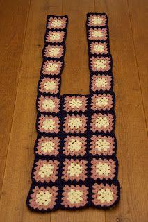 S@@rtje: Tutorial granny square vest