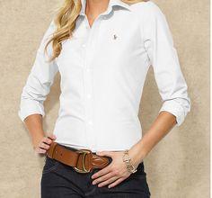 Oxford Ralph Lauren polo shirt