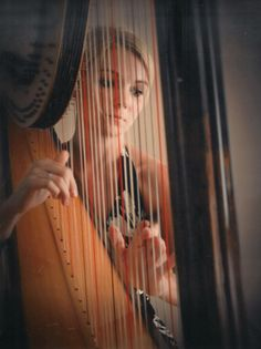 Harps to create a dream sequence?