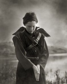 'Last Comes The Raven' by Beth Moon 2007