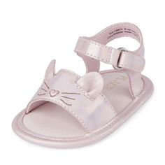 The Children's Place Kids' Nbg Cat Sandal Flat Cute Girl Shoes, Kid Shoes, Girls Shoes, Cat Flats, Little Girl Fashion, Vintage Style Outfits, Flat Sandals, Baby Love, Cute Babies