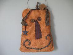 Primitive Pumpkin Fall Chenille Pumpkin with by KeepsakeDesigns, $13.99