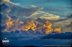Stormfront during the golden hour.... Bo Phut, Koh Samui, Thailand