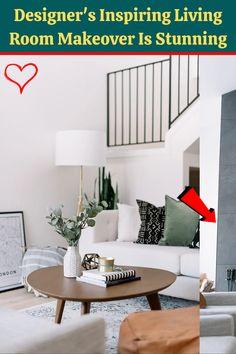 Designer's Inspiring Living Room Makeover Is Stunning