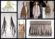 Trend Accessories: Fringes - S/S 2012