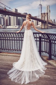@whitneyeveport wearning Vintage style from Atelier Pronovias 2016 Collection