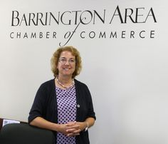 After a two month search, the Barrington Area Chamber of Commerce just announced they've hired their new Chamber president!  Her name is Suzanne Corr and she's only the 3rd person to fill this role in the Chamber's 45-year history.  Click photo for story.