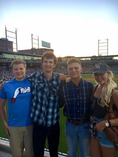 The Interns celebrated the first night in Minneapolis with a St. Paul Saints Game.