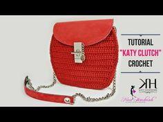 "TUTORIAL POCHETTE ""Katy"" UNCINETTO - DIY Crochet bag ● Katy Handmade - YouTube"