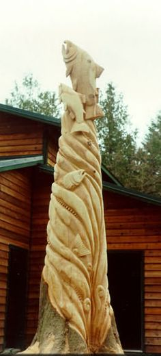 Stanley Rill Woodcarver: Carved Trees & Stumps