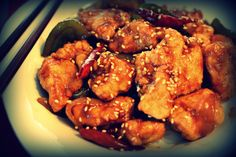 Gluten-free General Tso's Chicken!