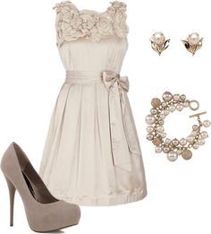 dress, created by missyalexandra on Polyvore