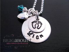 Hand Stamped Mommy Jewelry  by BragAboutIt