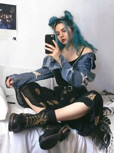 37 Ideas Clothes Grunge Alternative Fashion Goth For 2019 Soft Grunge Outfits, Outfits Casual, Cool Outfits, Fashion Outfits, Grunge Fashion Soft, Fashion Clothes, Soft Grunge Clothing, Hipster Outfits, Style Hipster