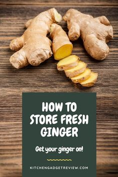 Find out the best way to store fresh ginger root, including pickling, freezing and more. Eating Raw Ginger, Cooking With Ginger, Ginger Root Tea, Uses For Ginger Root, Recipes With Ginger Root, How To Store Ginger, How To Eat Ginger, Storing Fresh Ginger, Tips