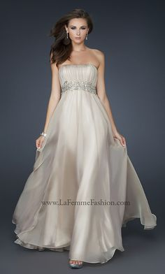 Grecian Inspired Strapless Evening Gown LF-15986   Perfect!!!