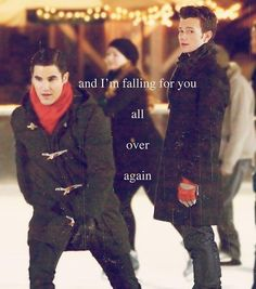 klaine edit bts don't look at me i cried while making this . Chris Colfer, Darren Criss, Still Love You, My Love, Blaine And Kurt, Im Falling For You, Favorite Tv Shows, My Favorite Things, Glee Cast