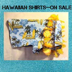 Cowabunga, Dude!! His/Hers Mini Pig Hawaiian Shirts