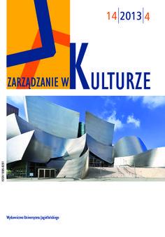 Nowy numera Zarządzania w Kulturze jest już dostępny na stronie http://www.ejournals.eu/Zarzadzanie-w-Kulturze/