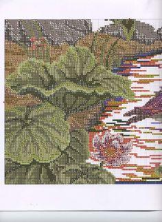 ru / Photo # 5 - 01 - the Ka Cross Stitch Cushion, Cross Stitch Bird, Cross Stitch Flowers, Counted Cross Stitch Patterns, Cross Stitching, Cactus Plants, Oriental, Birds, Pillows
