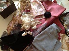 Кукольная мастерская ANNADAN: Как я люблю этот этап работы...