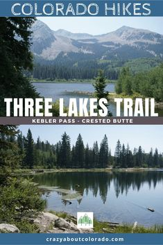 """One of our favorite """"off the beaten path"""" trails we've happened upon. Three Lakes Trail, located on beautiful Kebler Pass near Crested Butte, Colorado USA Snowshoe, Colorado Usa, Colorado Hiking, Rafting, Snowboard, Three Lakes, Crested Butte, Travel Usa, Travel Tips"""