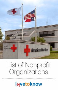 Are you looking for a list of nonprofit organizations that is organized by interest? Here is a partial list of non-profit organizations categorized according to specific focus areas. While some of the organizations could fall into numerous categories, each organization appears on the list only once and is categorized according to primary area of interest. #charity #donation #nonprofit | List of Nonprofit Organizations fro #LoveToKnow