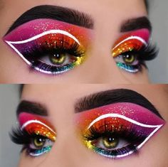 "@raphaelamua is wearing @glitterlambs ""Celebrity"" glitter eyeshadow #glitter #glitterlambs #glittereyeshadow #glittereyes #eyeshadow #makeup #mua #chunkyglitter #festivalglitter #makeupaddict #makeupartist #makeupgoals"