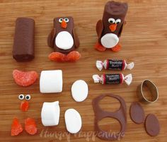 Snack Cake Penguins - a great treat to celebrate Christmas in July - Hungry Happenings