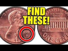 You could have these valuable penny coins in your pocket change. We look at the 2001 penny worth money. These 2001 Lincoln pennies are rare coins to look for. Valuable Pennies, Rare Pennies, Valuable Coins, Old Coins Worth Money, Old Money, Penny Values, Coin Jar, Penny Coin, Us Penny