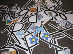 Printable Alphabet Letters   learning 4 kids