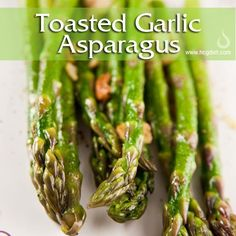 Phase 2 Toasted Garlic Asparagus for the HCG Diet